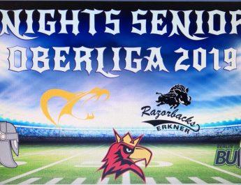 Der AFCVBB stellt neue Ligenstruktur vor – Knights Seniors 2019 mit attraktiven Gegnern
