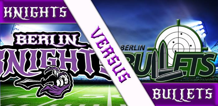 Vorbericht Berlin Knights Seniors (0-1) vs. Berlin Bullets (0-3)