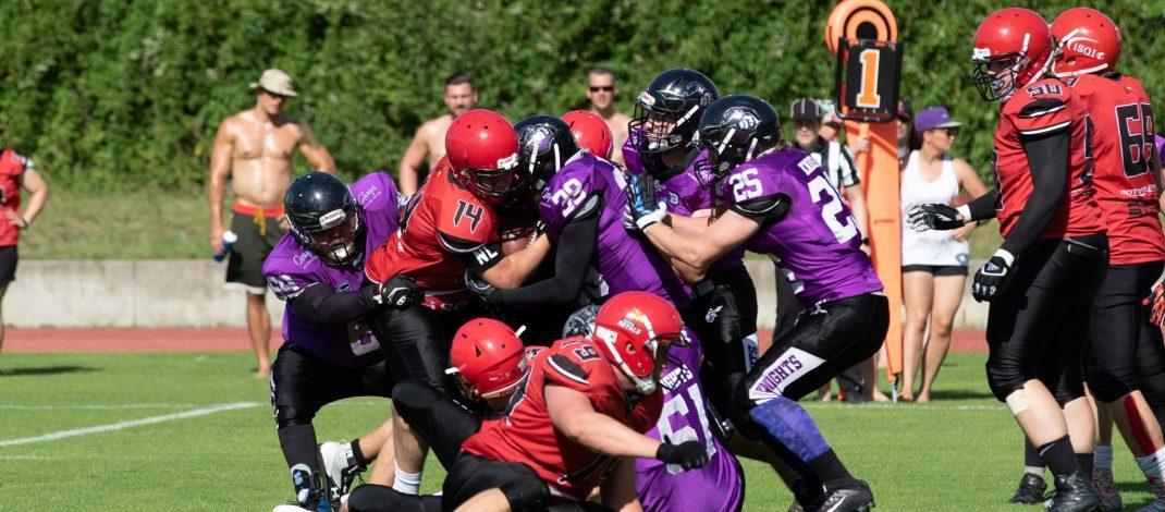 Vorbericht Berlin Knights (3-1) vs Erkner Razorbacks (3-1-1)