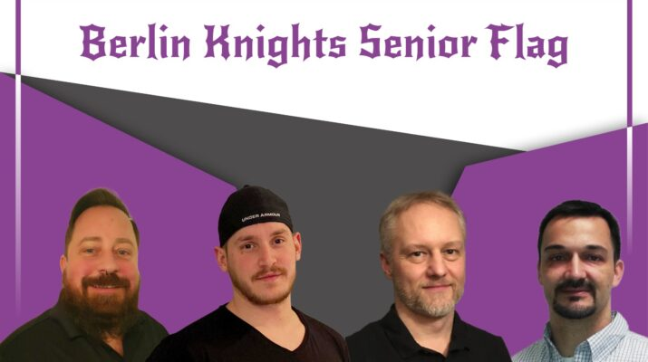 Staff der Berlin Knights Flag
