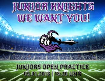 Junior Knights Open Practice